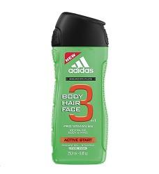 ADIDAS sprchový gel  pro muže 250ml/6 3v1 ACTIVE START