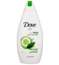 DOVE sprchový gel 250ml/6 Gentle Exfolianting