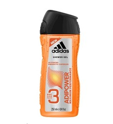 ADIDAS sprchový gel  250ml/6 3v1  ADIPOWER