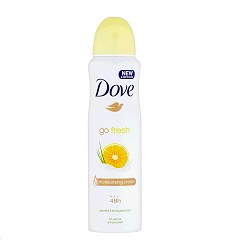 Deodorant dámský Dove 150ml Grapefruit lemongrass scent