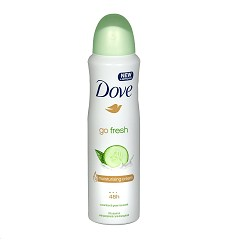 Deodorant dámský Dove 150ml Fresh Cucumber