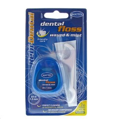 Dental Floss dentální nit Mint 50m , 1,5mm