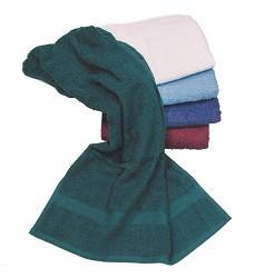 Ručník froté 50x100 světle modrý 400g/m2, 100%bavlna Červa jednobarevný