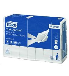 Tork 129089  Xpress® flushable papírové ručníky Multifold H2