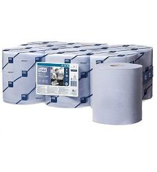 TORK 128208 papírová utěrka v roli 320m modrá 1 vrstva karton 6 ks