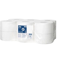 TORK 110163 mini toaletní papír 3 karton (12 rolí/ 1714 útržků)  T2