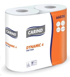 Toaletní papír Carind EKONOM ROTOLI 4x60m  (balení = 4role)