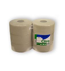 Toaletní papír 24cm/6   recyklovaný jednovrstvý toaletní papír 200m