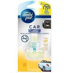 AMBI PUR auto - náhradní náplň 7ml ANTITOBACCO